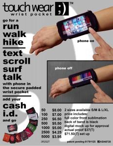 touchwear flyer