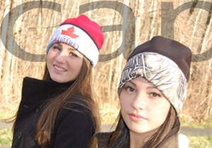 Leap into winter cap