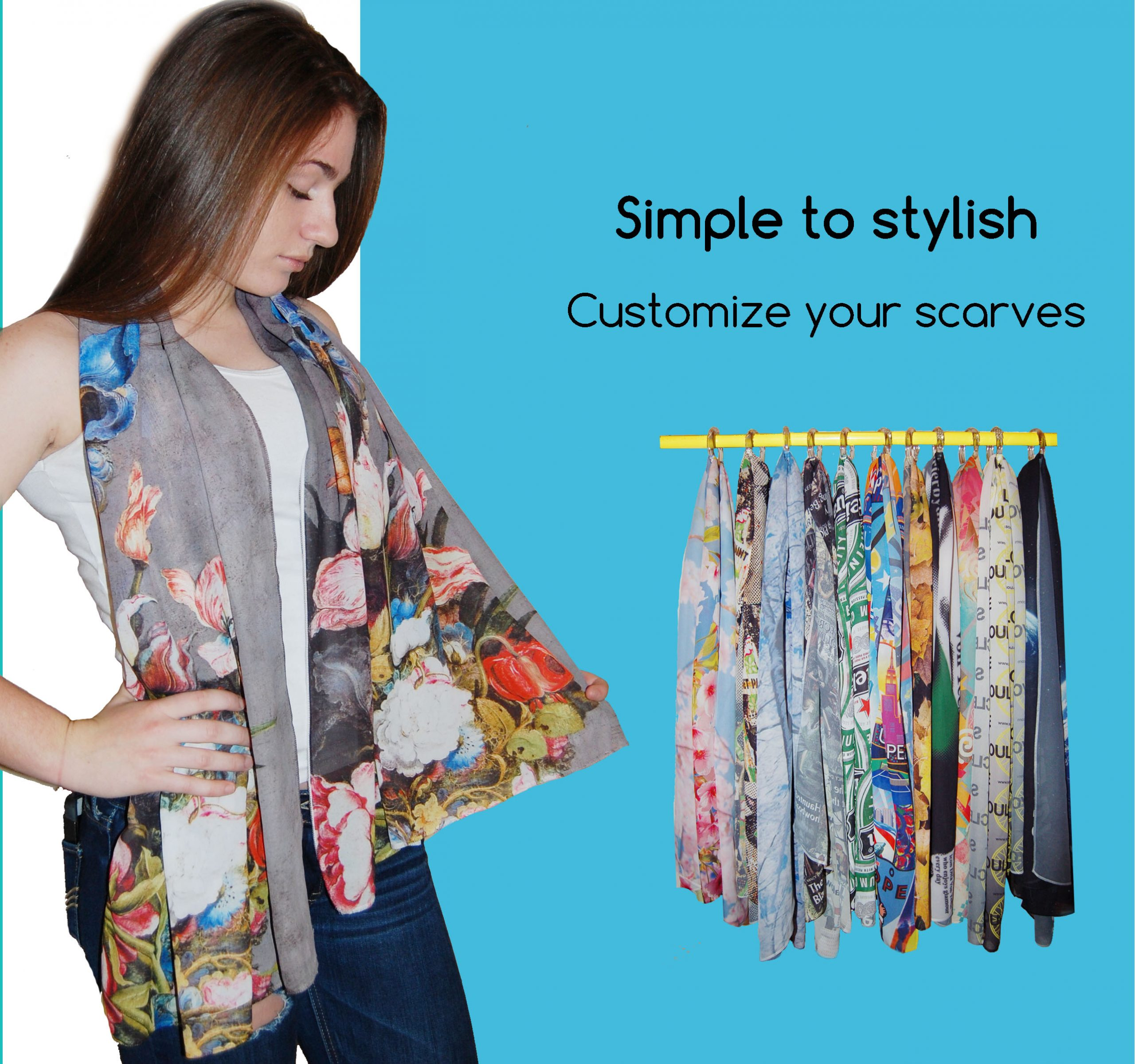 SCARVES simple to style
