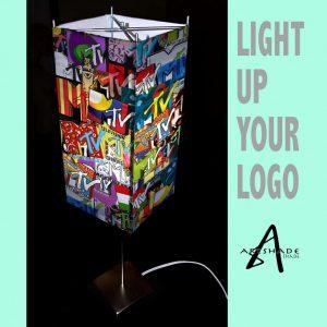 Art Shade Lamp