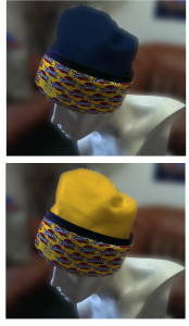 color cuff cap