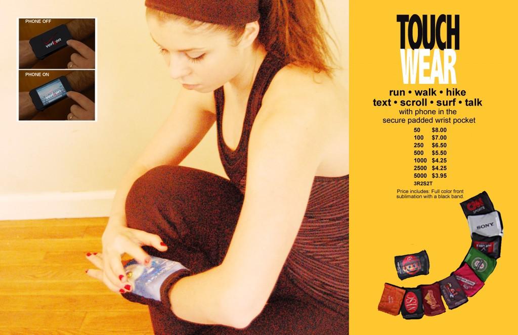 Touch Wear Wrist Phone
