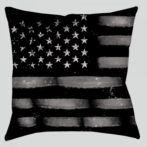 pillow American flag