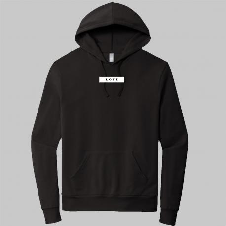 love-black-weatshirt