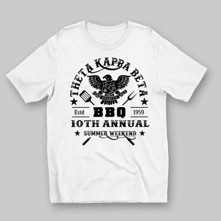 BBQ TKB fundraiser T-shirt
